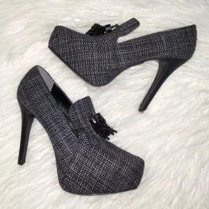 8 Simply Vera Wang ZARA Black Loafer Platforms